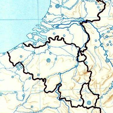 Cartina Muta Germania Con Fiumi.Geografia Stefanoni Danilo