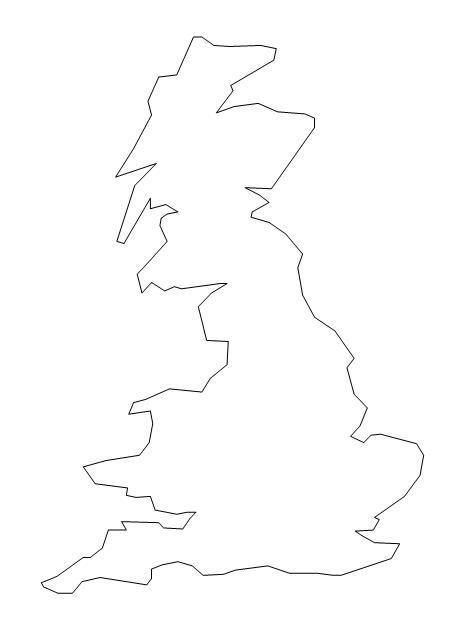 Cartina Gran Bretagna Muta.Geografia Stefanoni Danilo